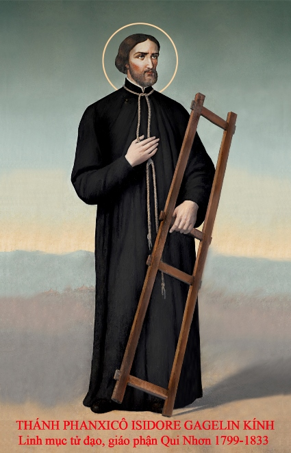 Người mục tử chứng nhân (bài hát kính Thánh Phanxicô Gagelin Kính)